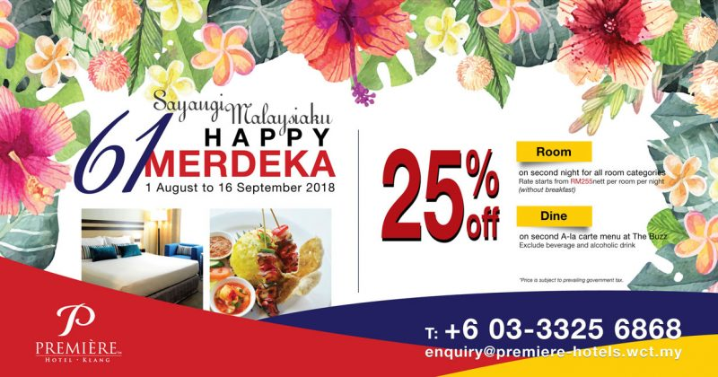 Malaysia Day Offer!