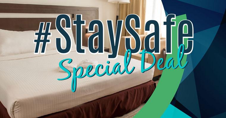 #StaySafe Special Deal